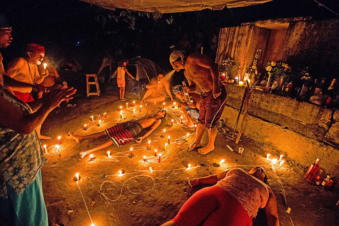 Photo Report Santeria Animal Sacrifice And Cult Of Maria Lionza In