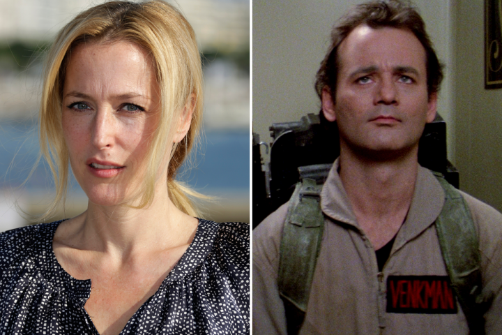 Gillian Anderson Ghostbusters