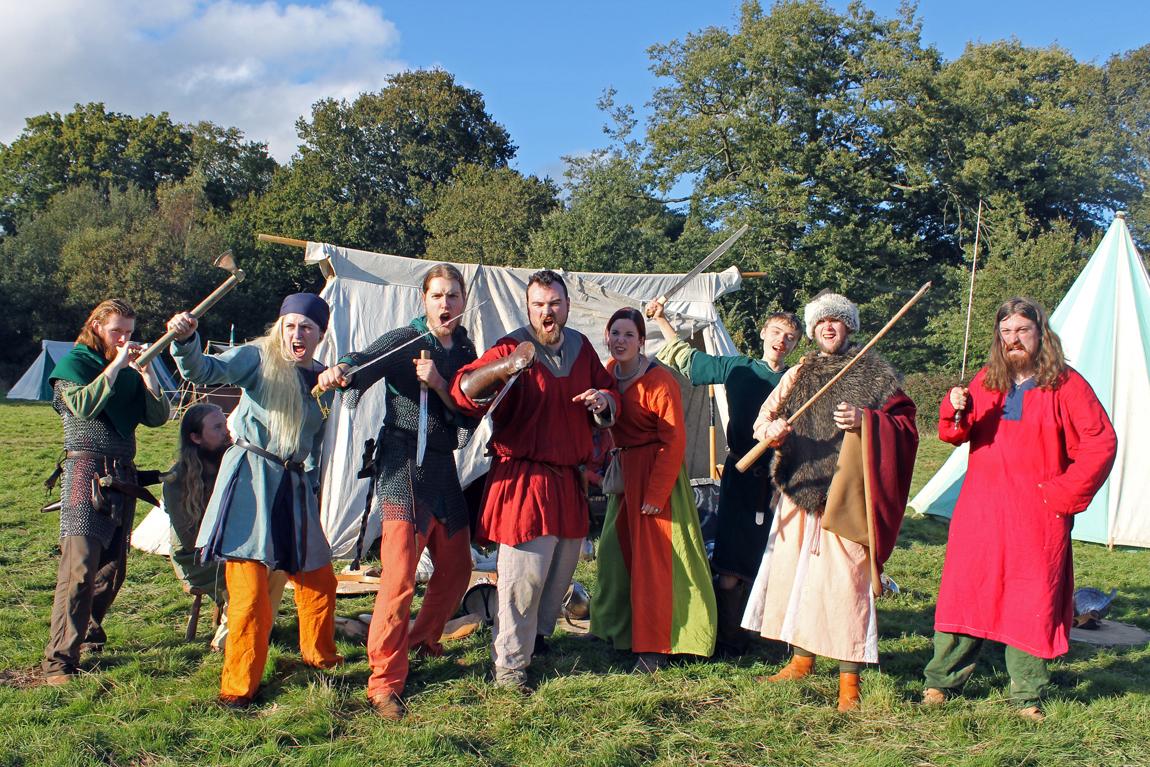 The Ledrahls re-enactment group