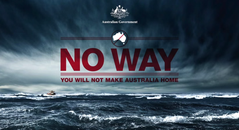 Australia anti-immigration ad