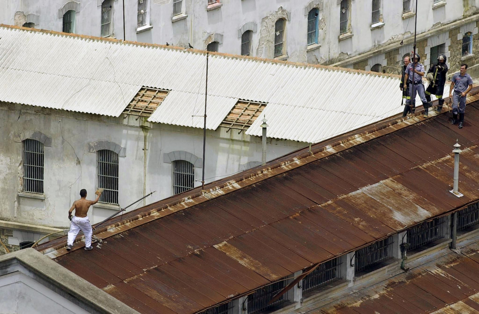 Brazil's prisons are massively overcrowded, leading to riots by inmates seeking better living conditions