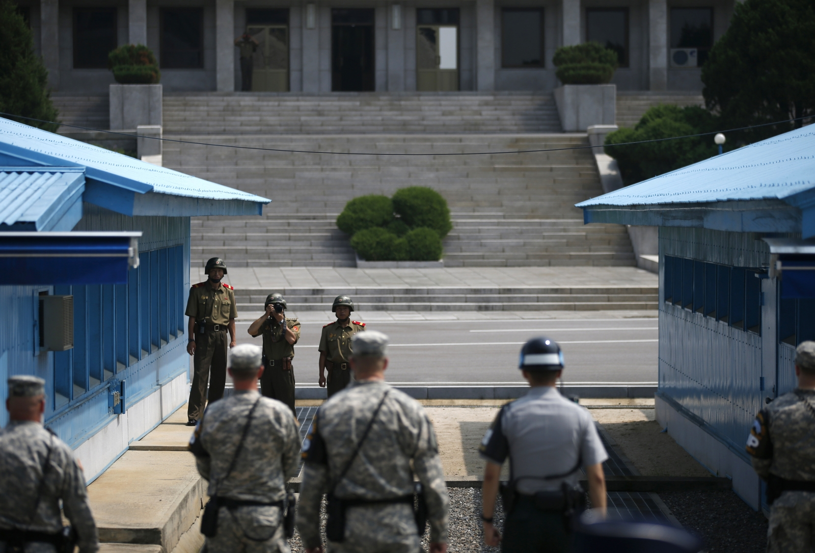 rival koreas hold high level military talks in truce