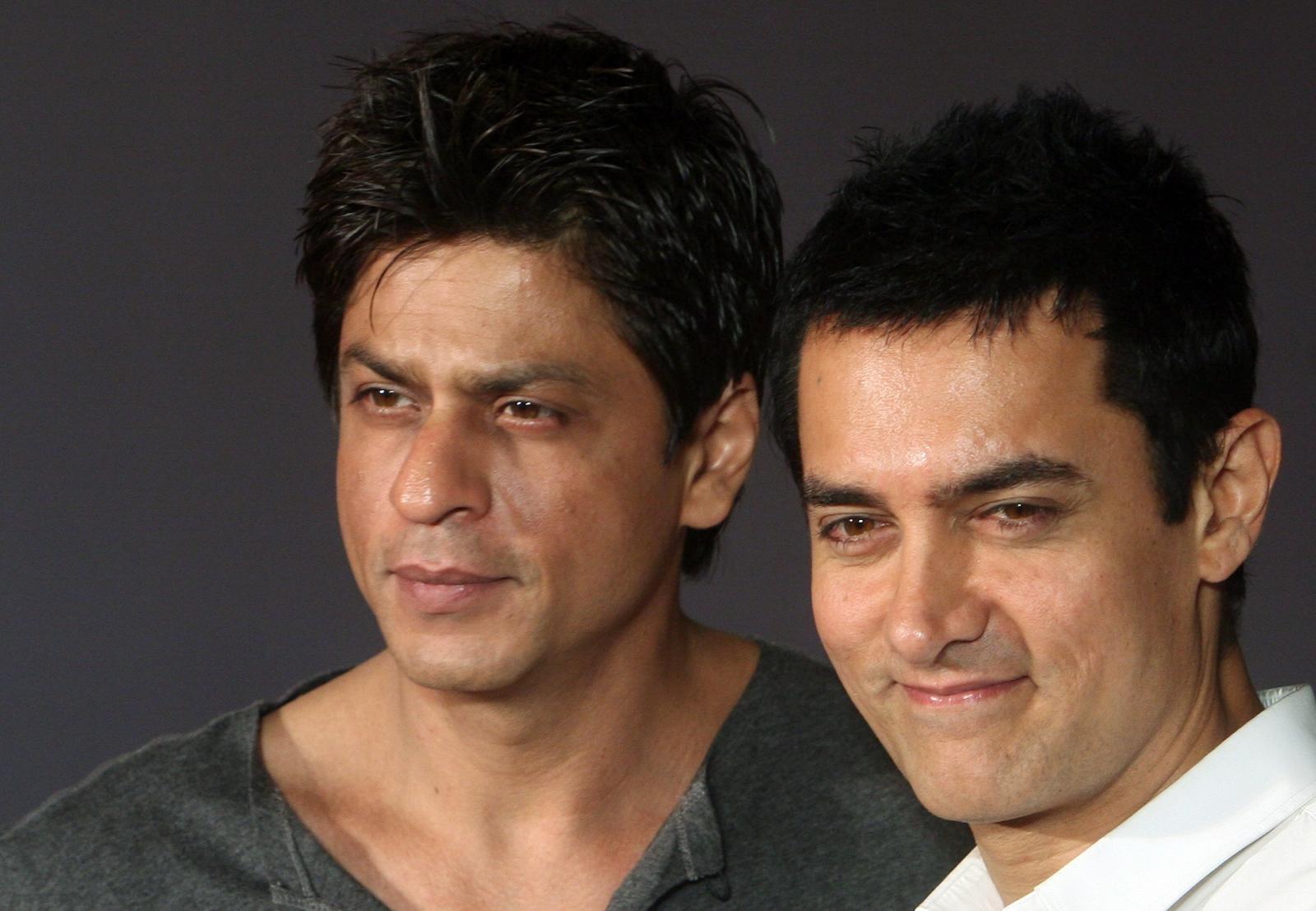 Shahrukh khan and Aamir Khan