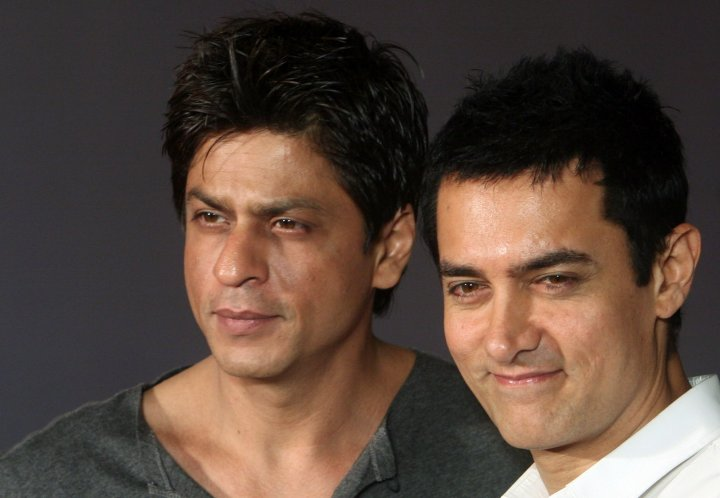Shahrukh khan and Aamir Khan