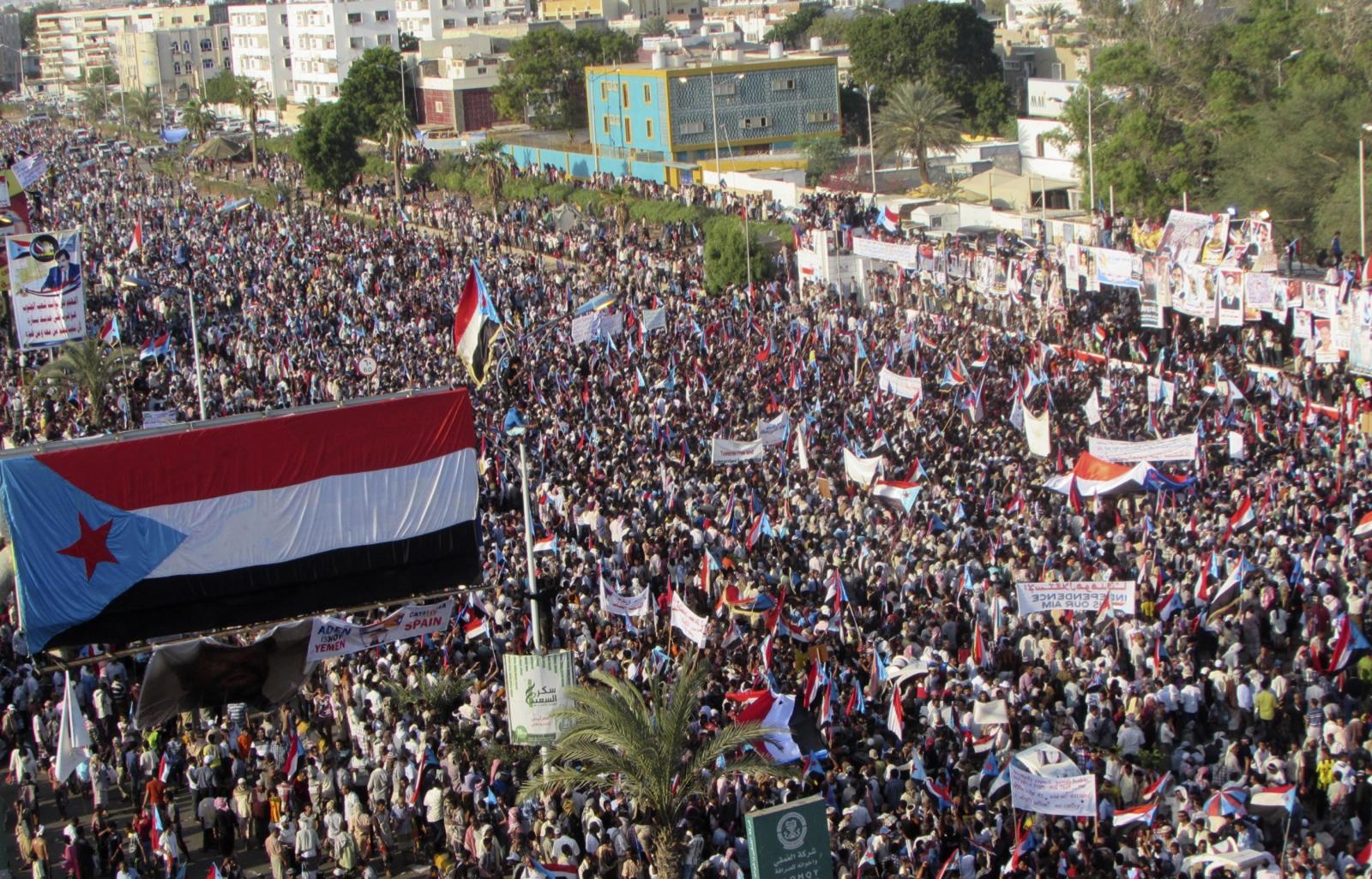 Yemen protest Aden