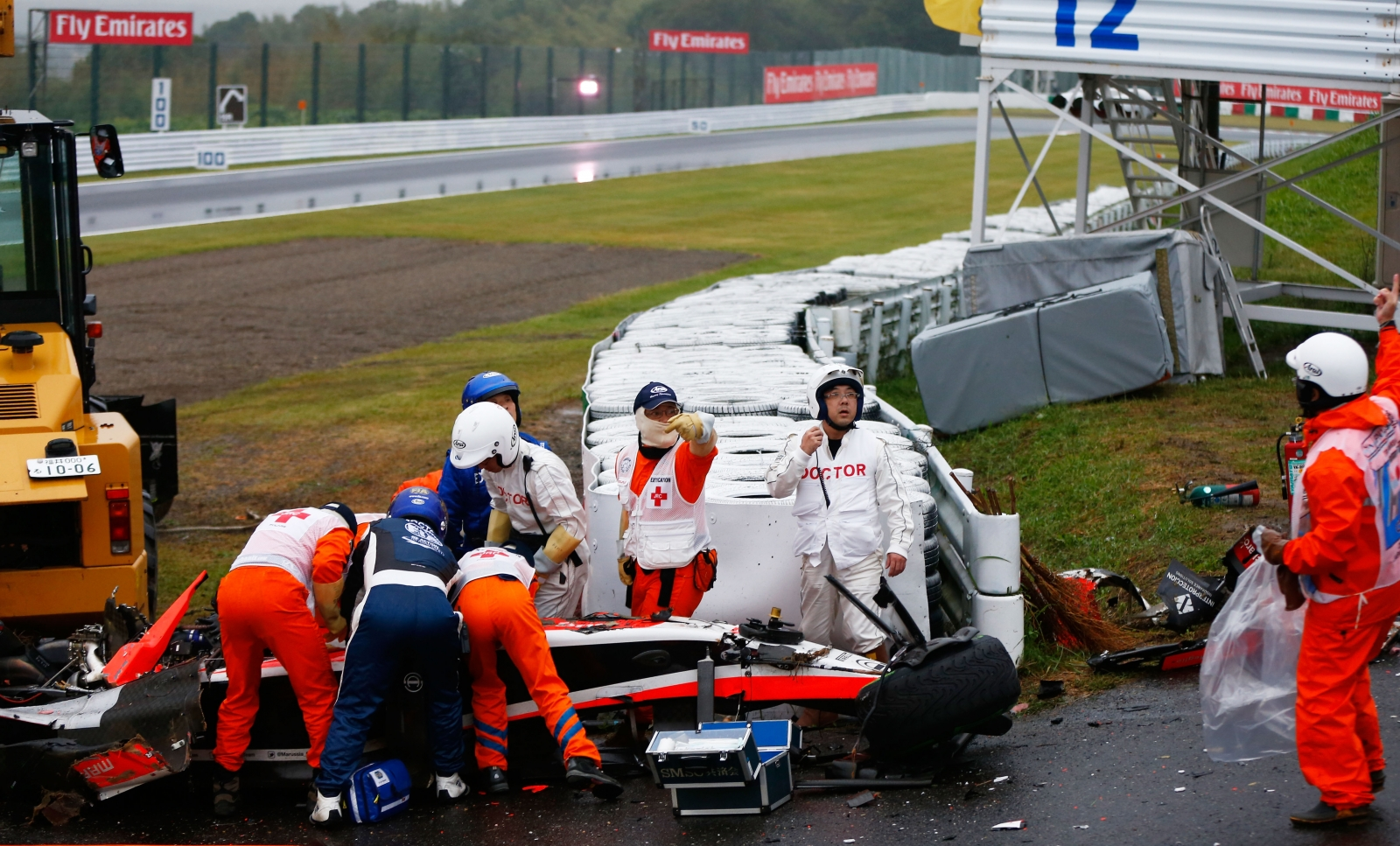 Marussia shocked by
