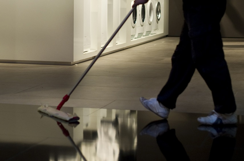Man arrested for sweeping a floor too aggressively in Bristol