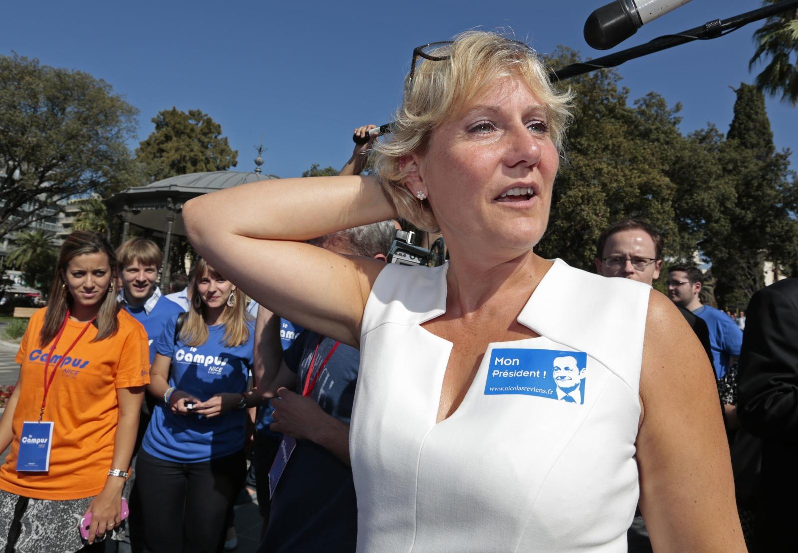 UMP party member Nadine Morano