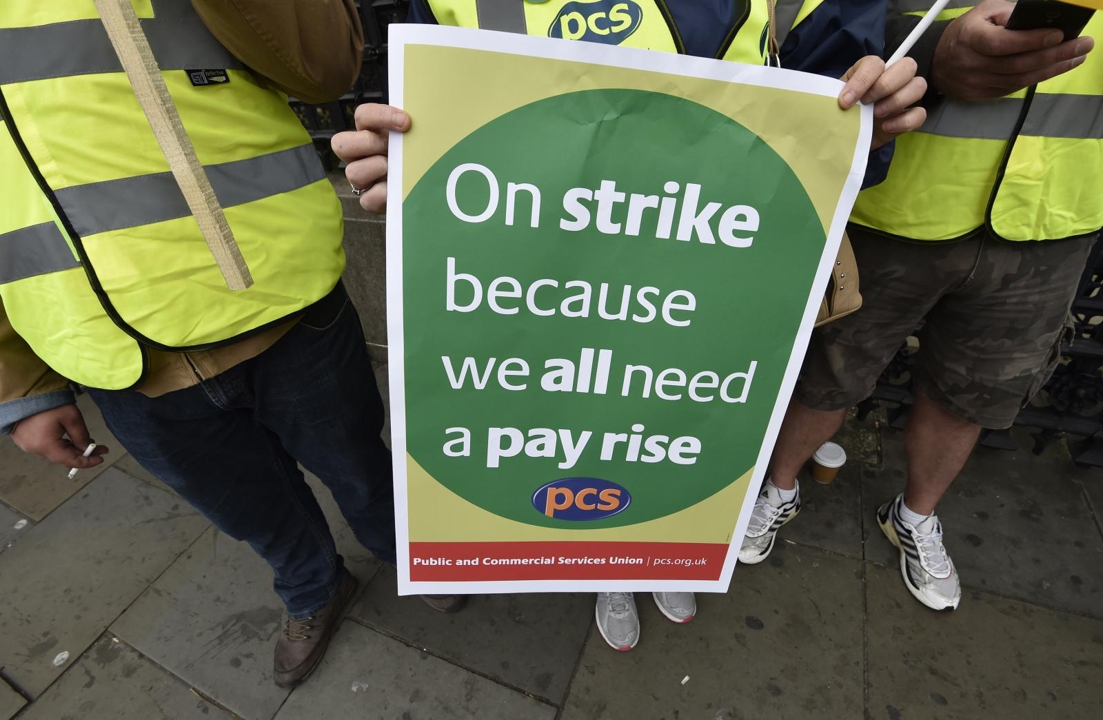 Civil servant strike
