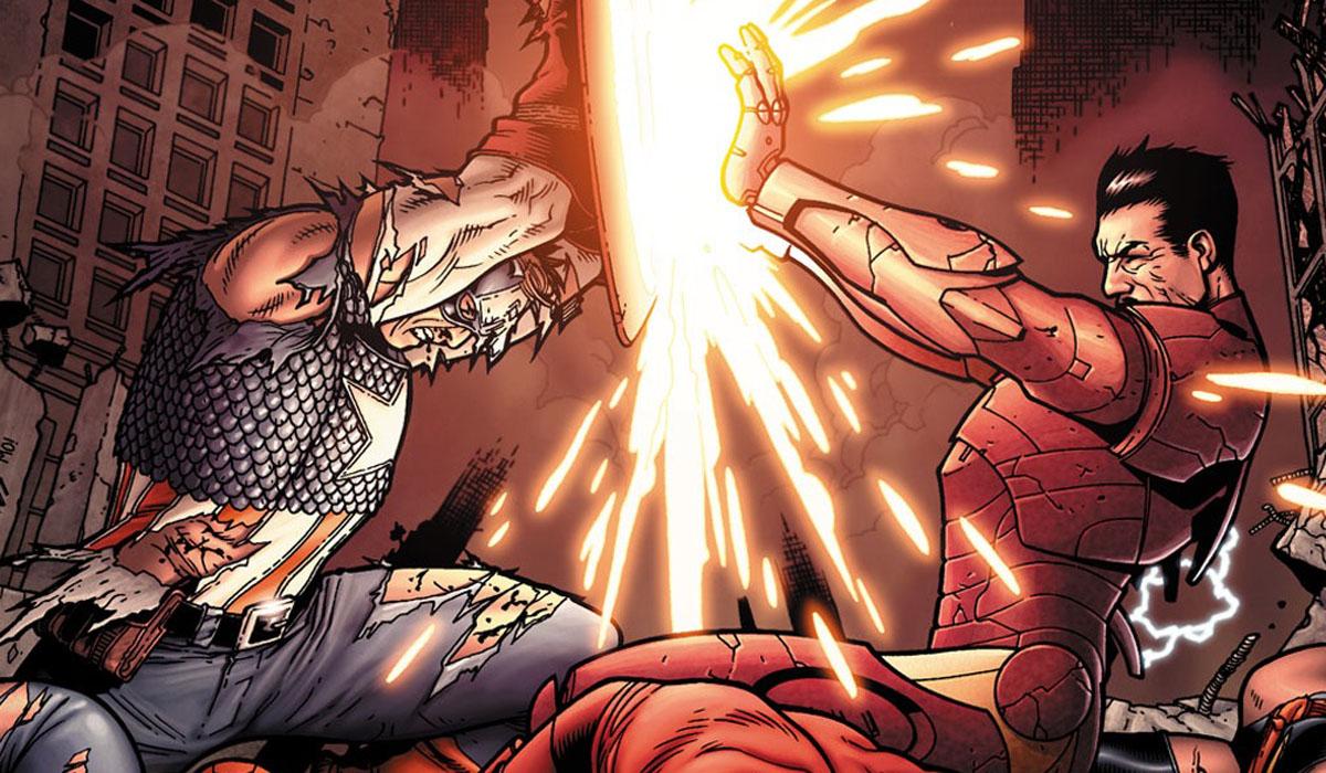 Captain America Iron Man Civil War