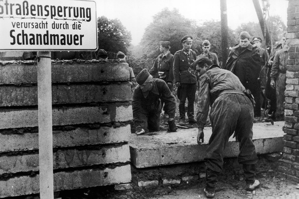 Berlin Wall fall: 25th Anniversary