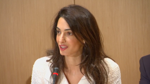 Amal Alamuddin Clooney: Greece Wants its Marbles Back