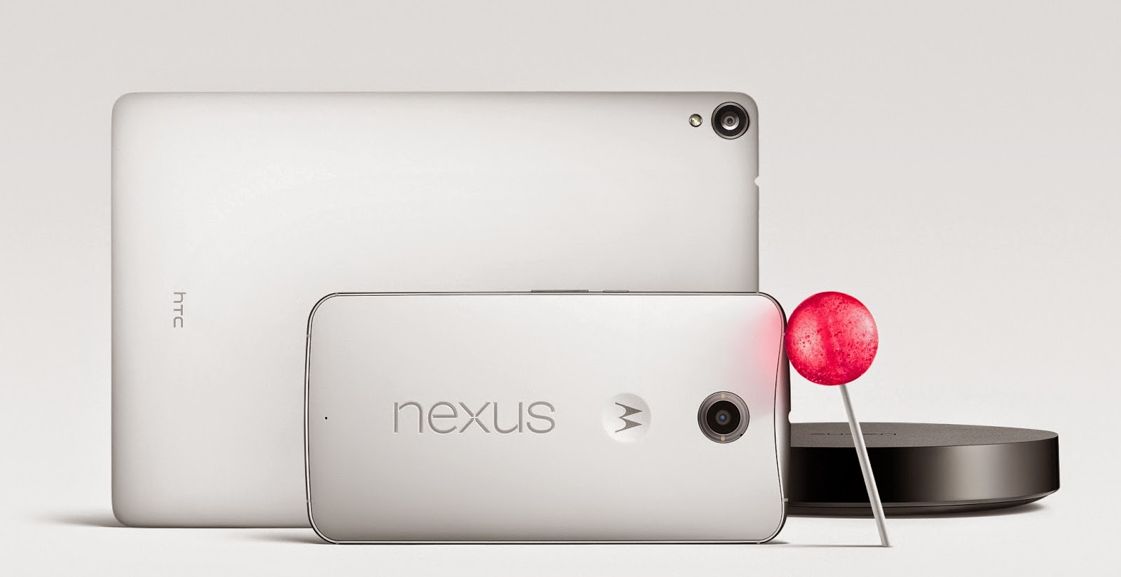 Nexus 6, Nexus 9, and Nexus Player Family with Lollipop