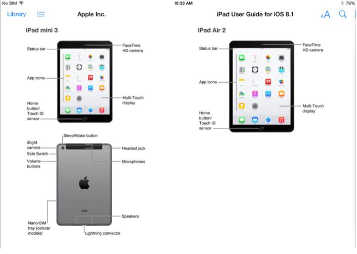 iPad leaks