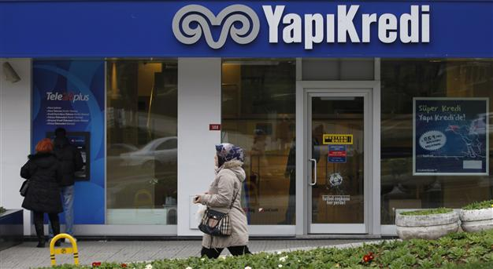 A bank in Turkey