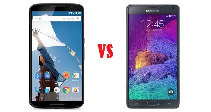 Google Nexus 6 vs Samsung Galaxy Note 4: Which One Should You Buy?