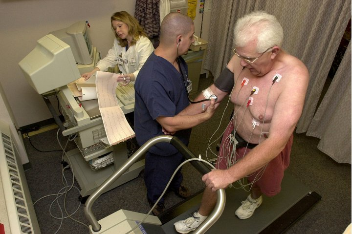 Cardiac stress test