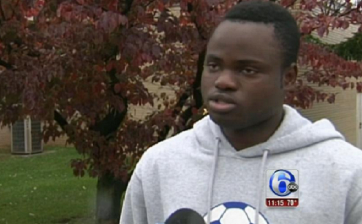 Ibrahim Toumkara subjected to 'ebola' chants during schools football match in Pennsylvania
