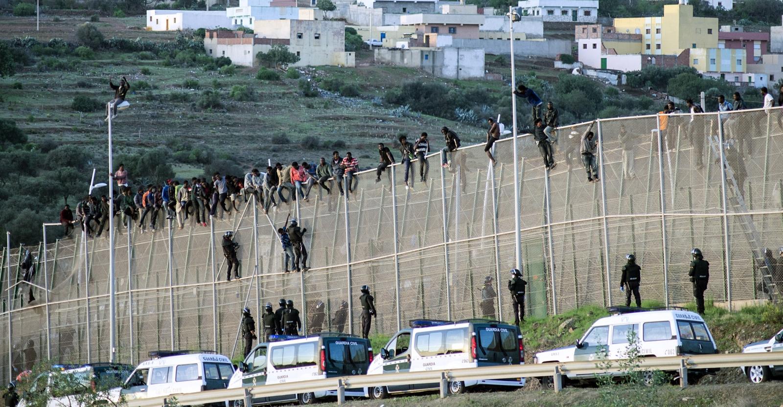 Melilla migrants