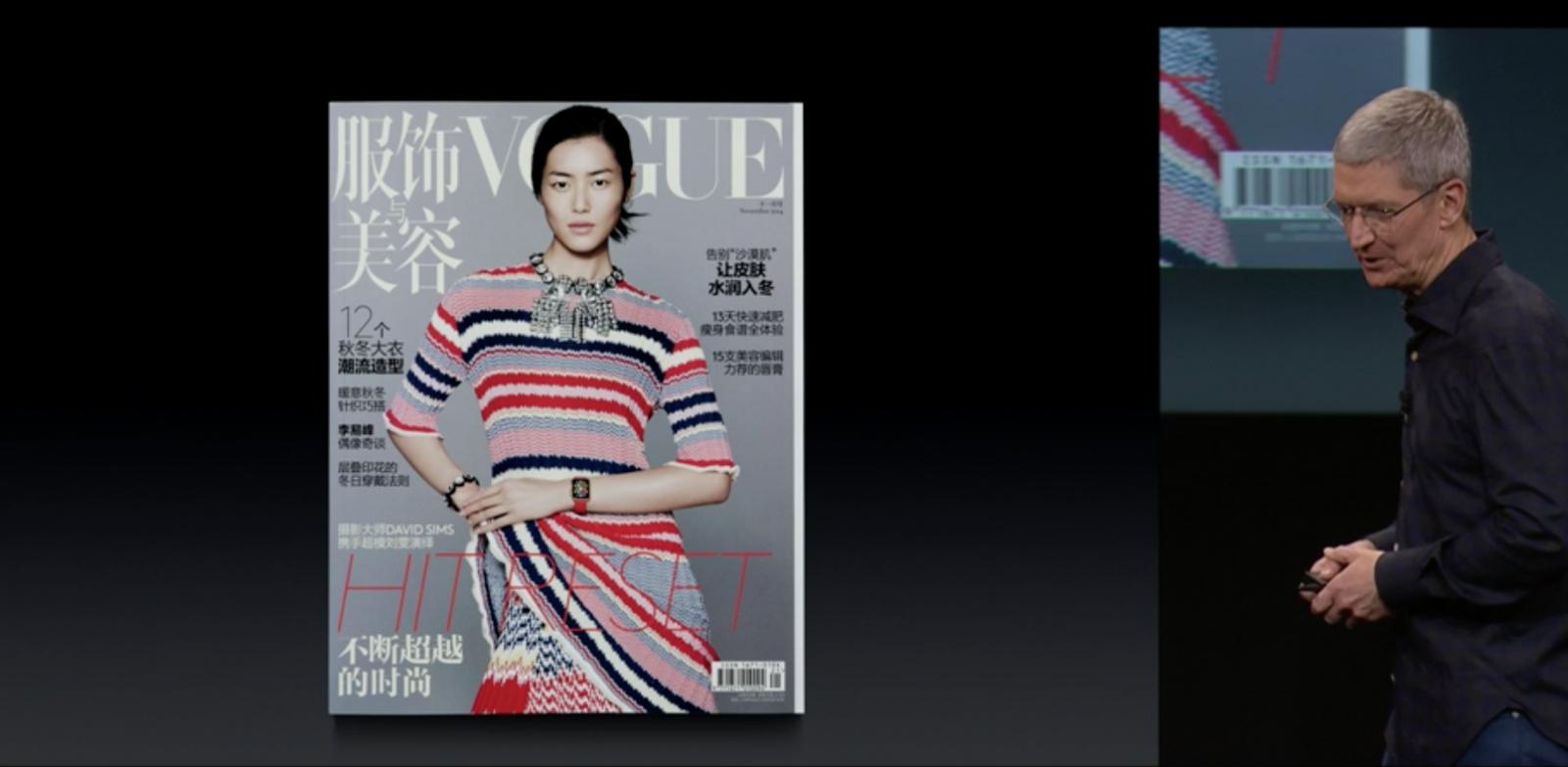 Apple Watch on Vogue