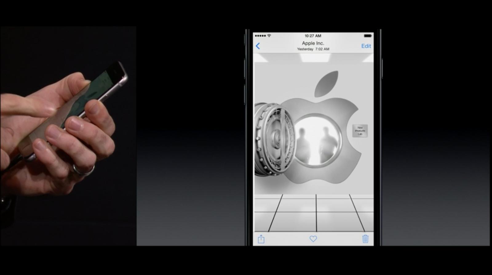 Apple Continuity iPAd Event