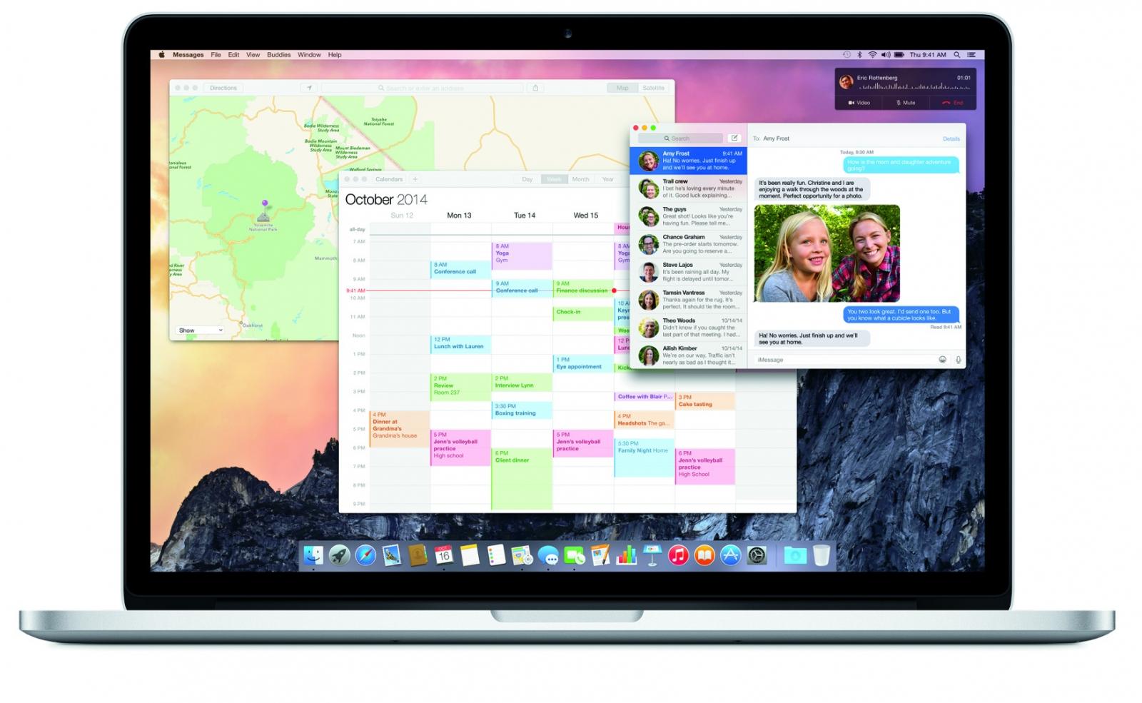 Apple MacBook Pro Yosemite OS X 10.10
