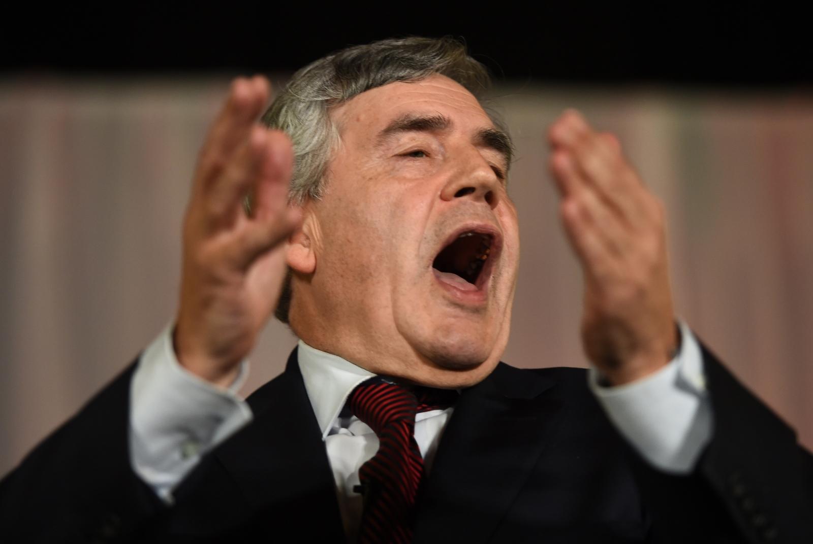 World is sleepwalking towards another financial crisis, former UK PM Brown warns