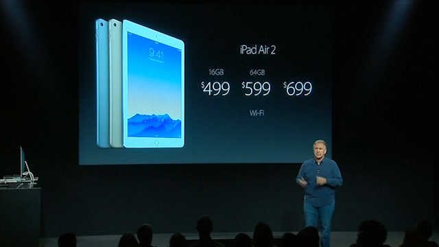 iPad Air 2: Apple Unveils World's Thinnest Tablet