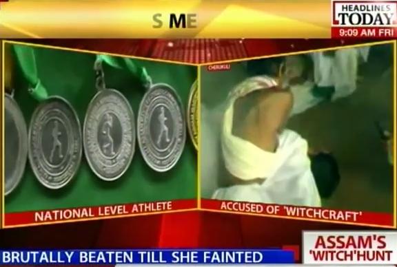 debjani bora witch hunting attack Assam