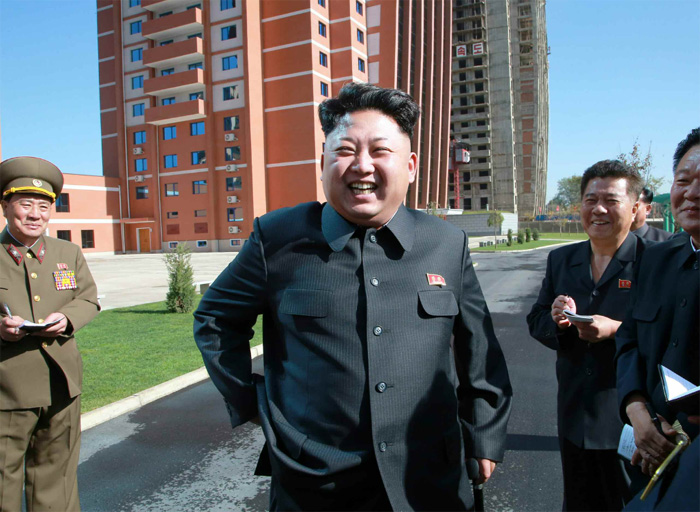 North Korea's Kim Jong-un makes another appearance with walking stick