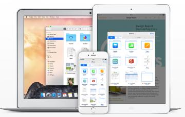 iCLoud Drive Yosemite iOS 8