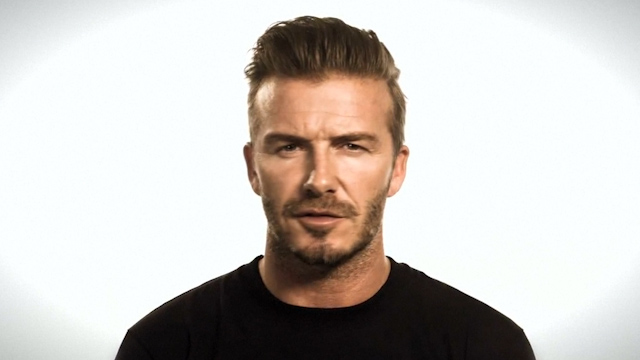 David Beckham Pitches In to Combat Ebola