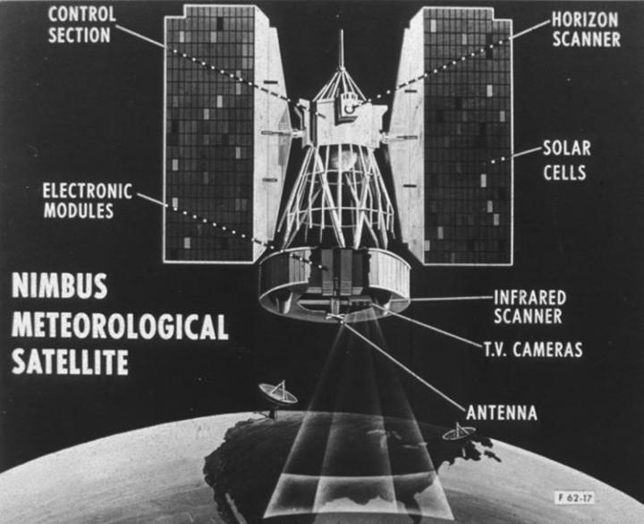 Nimbus 1 satellite