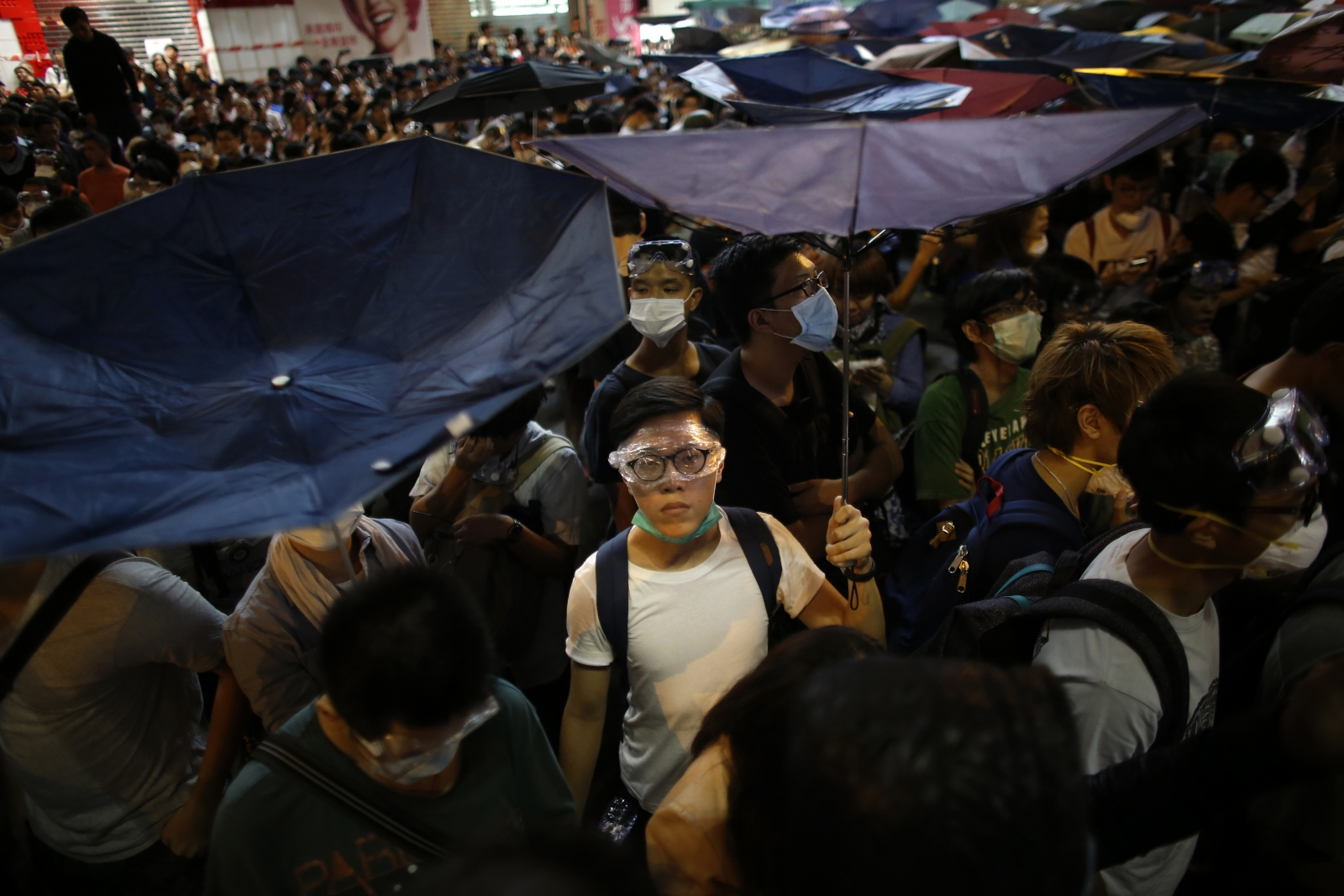 Hong Kong pro-democracy protests