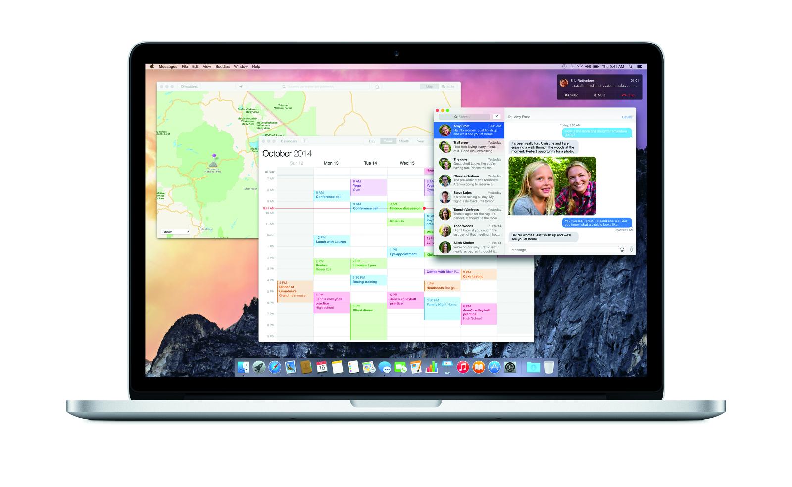 Mac OS X Yosemite MacBook Laptop