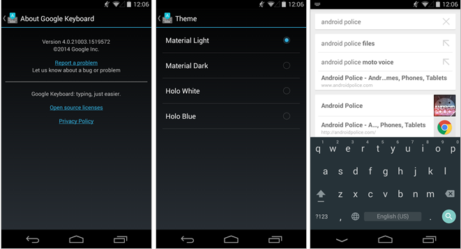How to Install Android 5.0 Keyboard APK on Any KitKat or JellyBean Device