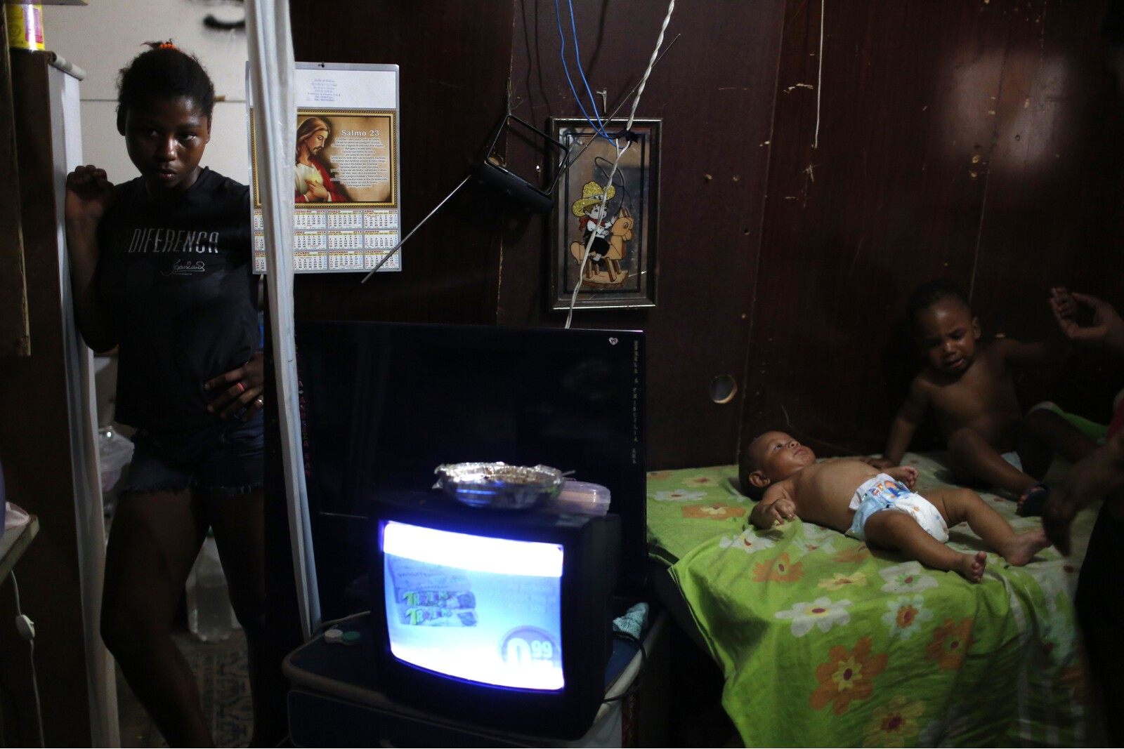 Brazil Factory Slum Babysitter