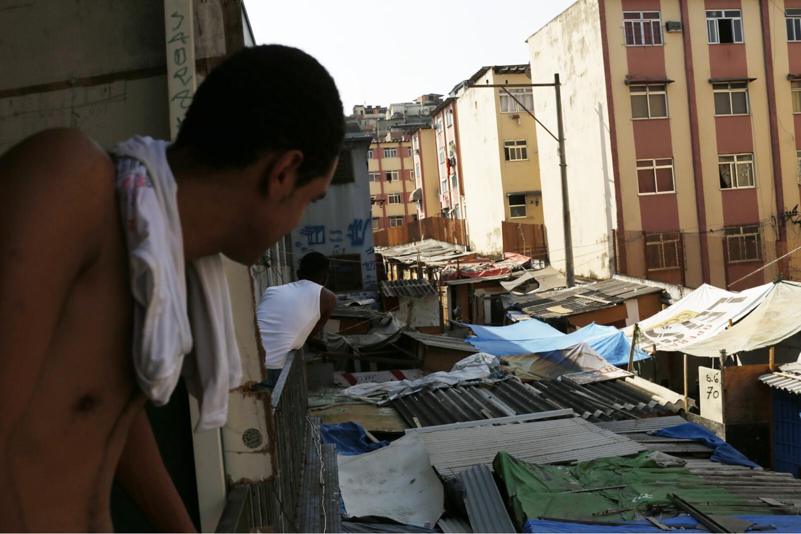 Brazil Factory Slum Windows