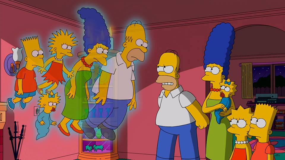 The Simpsons Halloween Special: Homer and Co Haunted? Where to ...