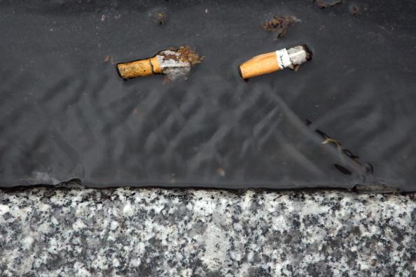 Paris smoking