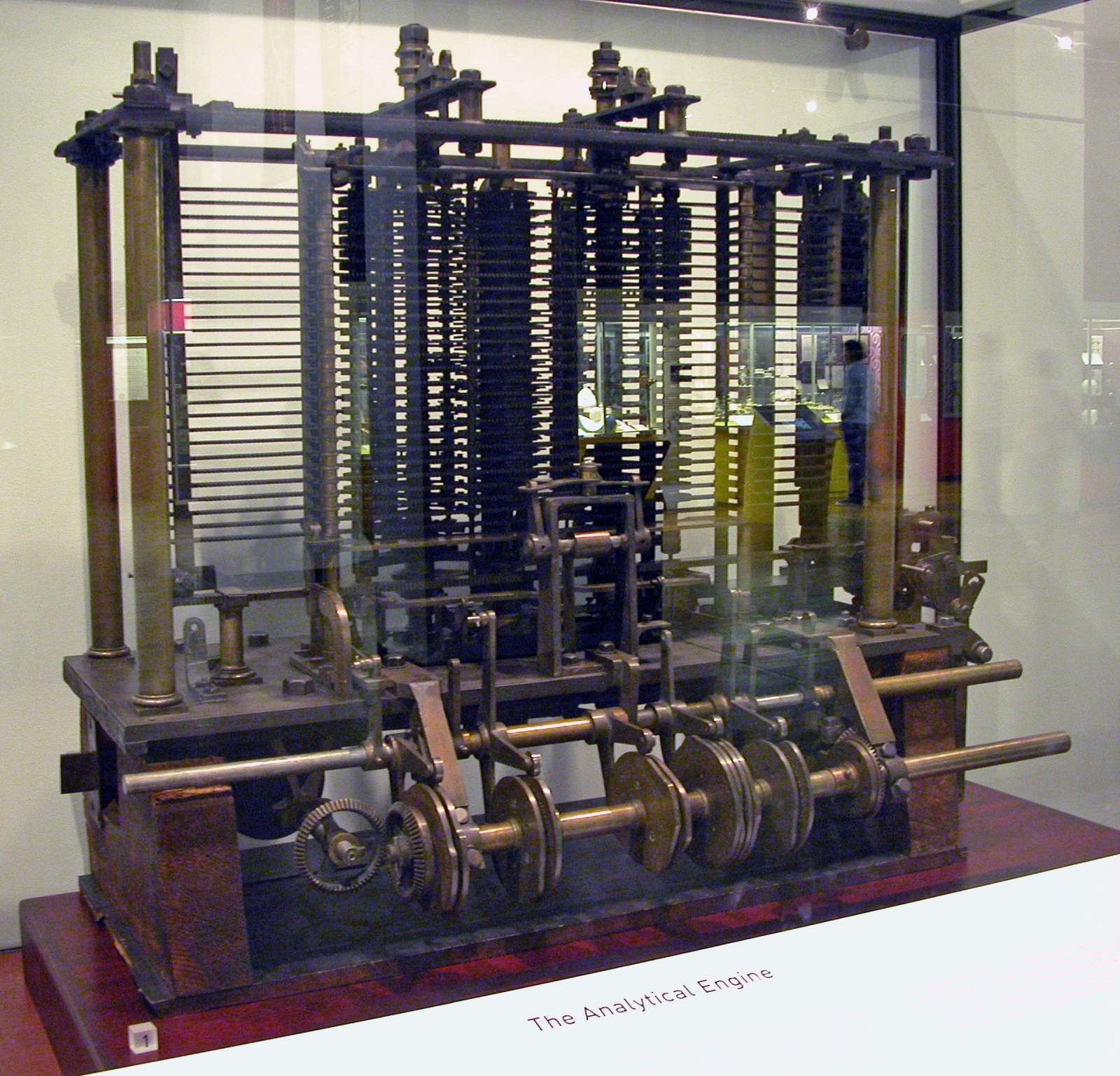 Analytical Engine by Charles Babbage
