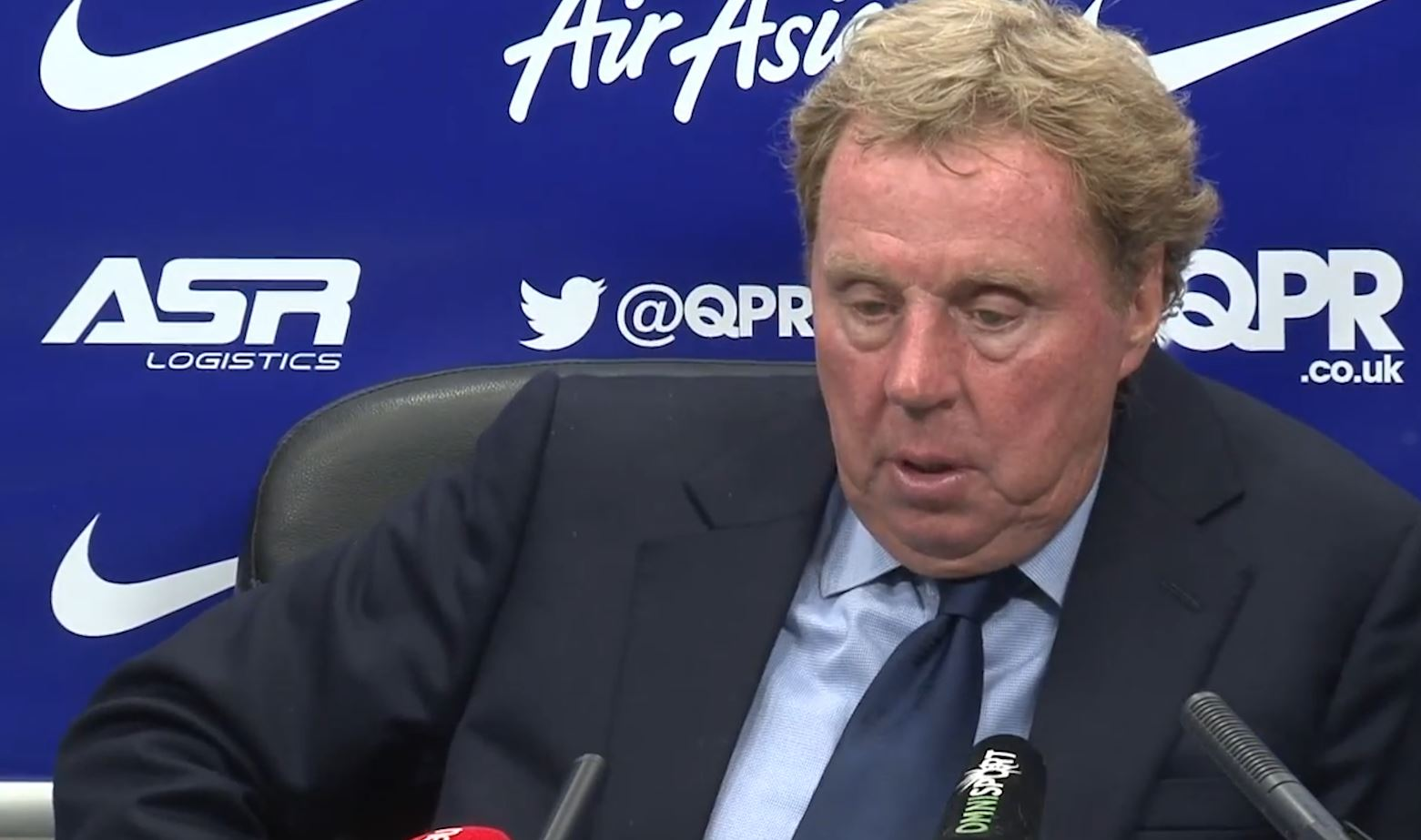 Harry Redknapp: Overweight Taarabt Not Fit to Play Football