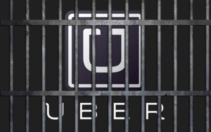 uber uberx arrest
