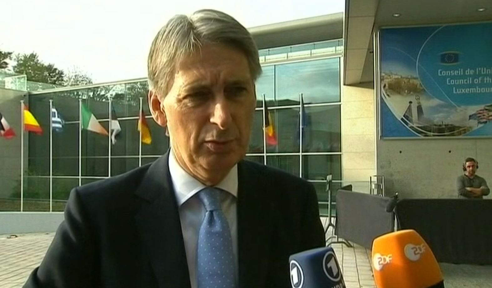 Philip Hammond: Ebola a 'Major Health Crisis'