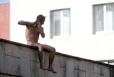 Artist Pyotr Pavlensky