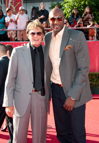 Bruce Jenner and NBA player Lamar Odom