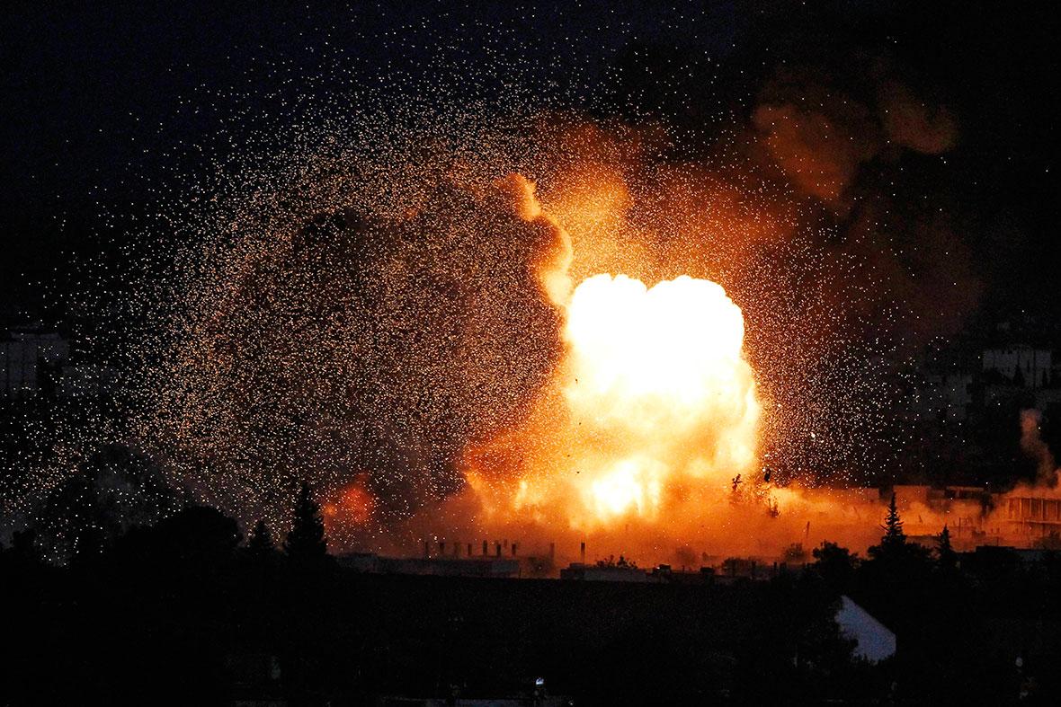 Kobani fireball
