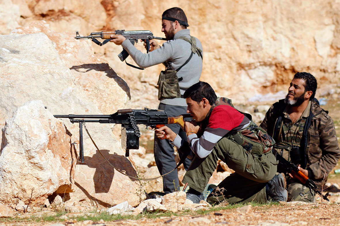 syria rebel