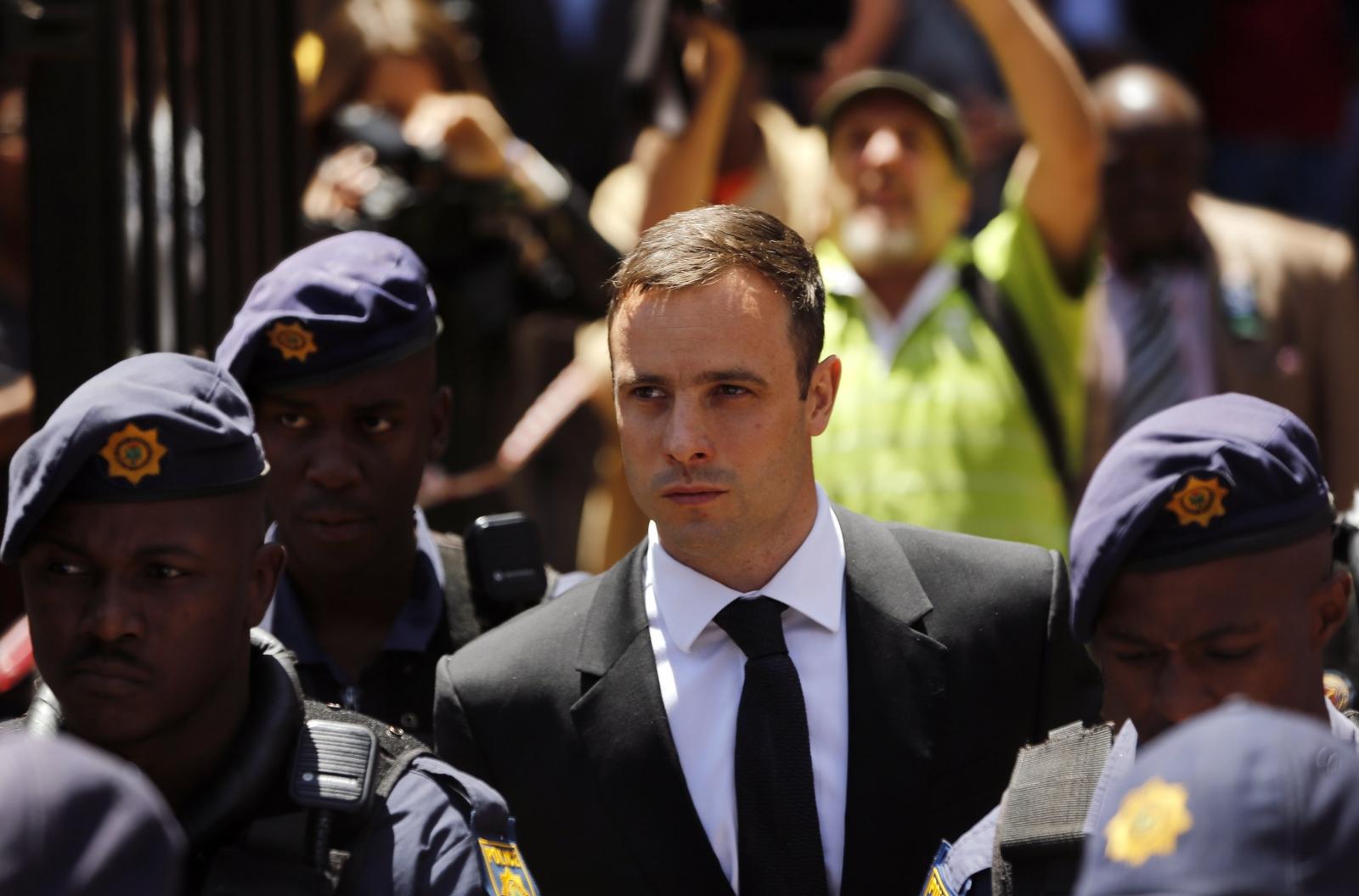 Pistorius Sentenced to Five Years Jail for Killing Girlfriend Reeva Steenkamp