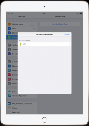 Apple SIM Offers Short-Term Data Plans to iPad Air 2 Users